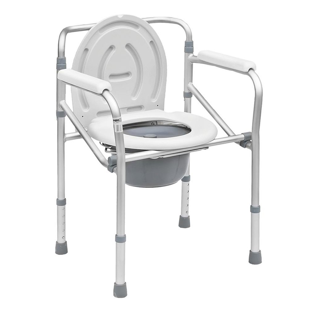 Wheeled Foldable Toilet