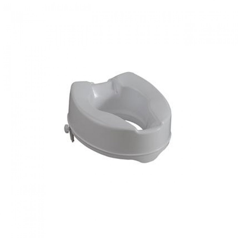 Raised Toilet Seat 15cm with clamps