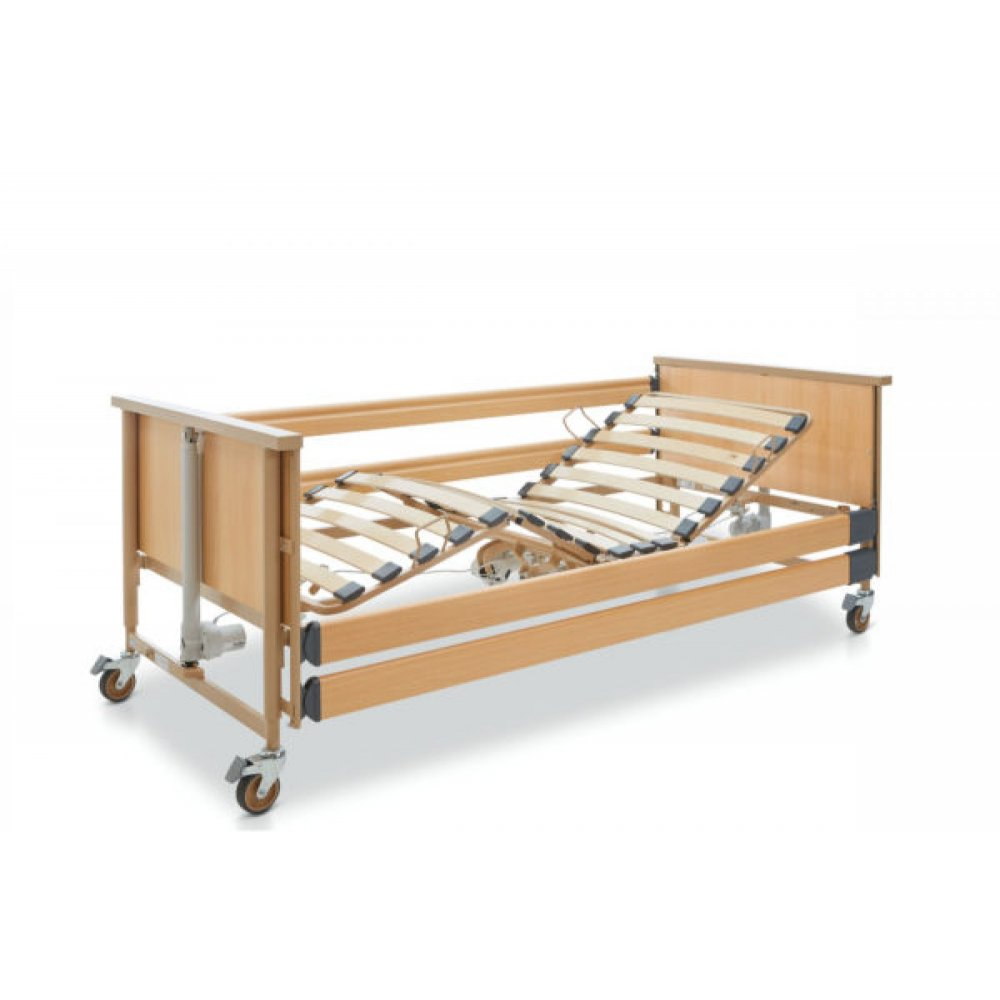 Wooden Εlectric 3-functions Hospital Bed  DALI ECON 230V