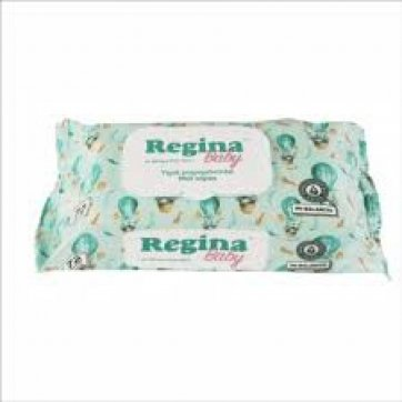 REGINA Baby Wipes with lid 72 pcs.